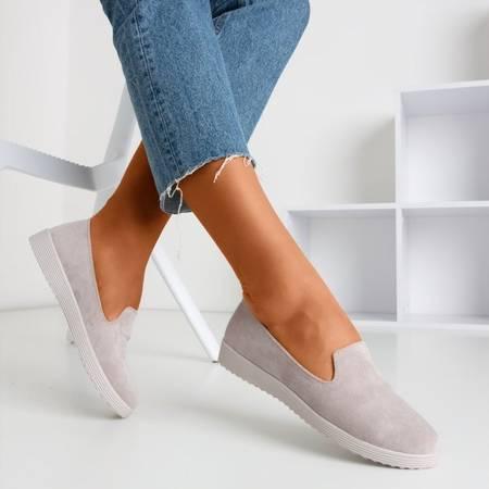 Beige loafers Isyda - Footwear 1