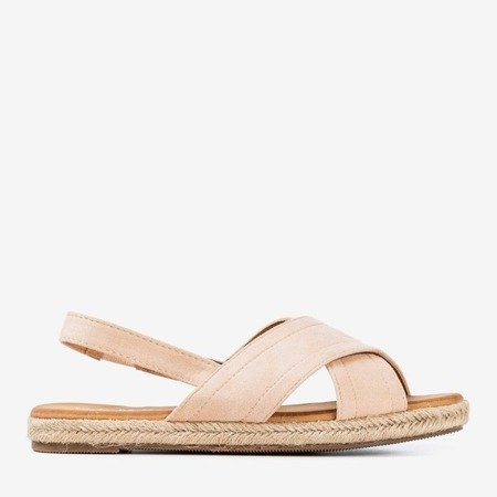 Beige women's sandals Cosilia - Footwear 1