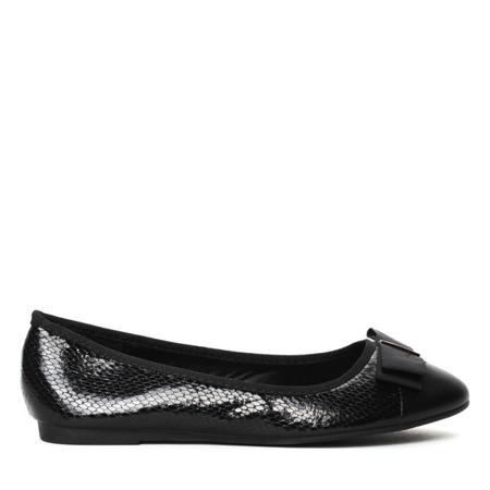 Black ballerinas - Footwear