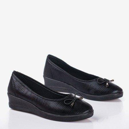 Black ballet pumps Moriah wedges - Shoes 1