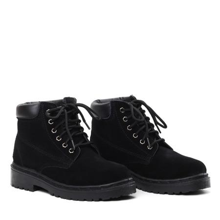Black insulated Lyric footwear- Footwear