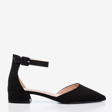 Black women's flat heels Tigrana - Footwear 1