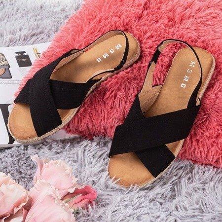 Black women's Cosilia sandals - Footwear 1