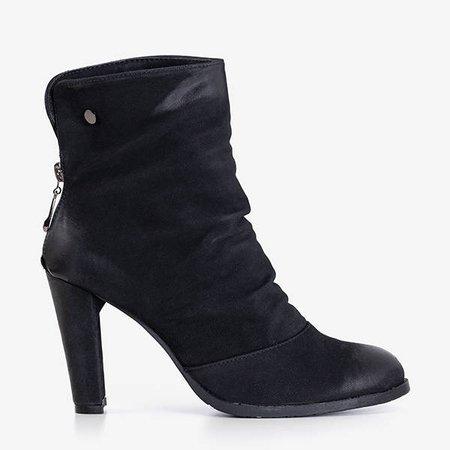 Black women's boots on the Hipolita post - Footwear