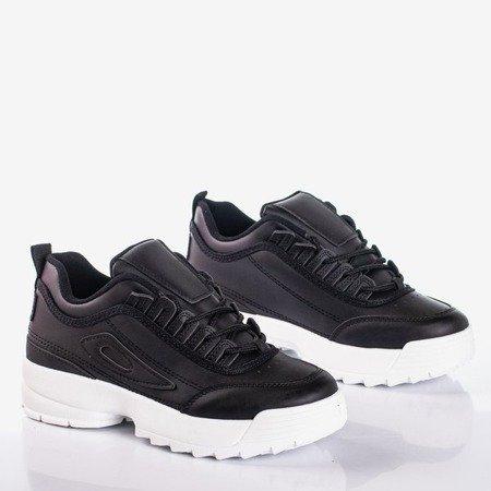 Black women's sports sneakers That's It - Footwear 1