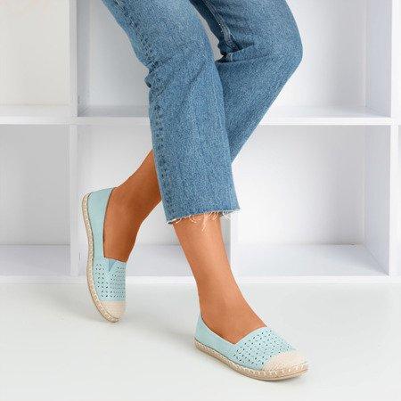 Blue openwork Jasad espadrilles - Footwear 1