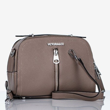 Brown small shoulder bag - Handbags