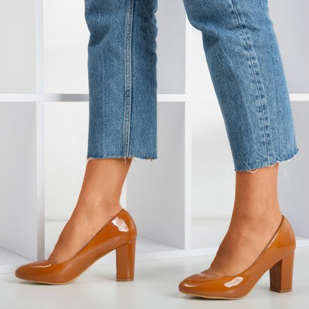 Brown varnished pumps on Wotolli's post - Footwear 1