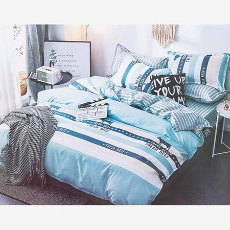 Colorful bedding 200x220 4-pieces set - Bed sheets