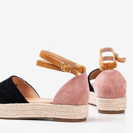 Colorful women's sandals a'la espadrilles Truly Yours - Footwear 1