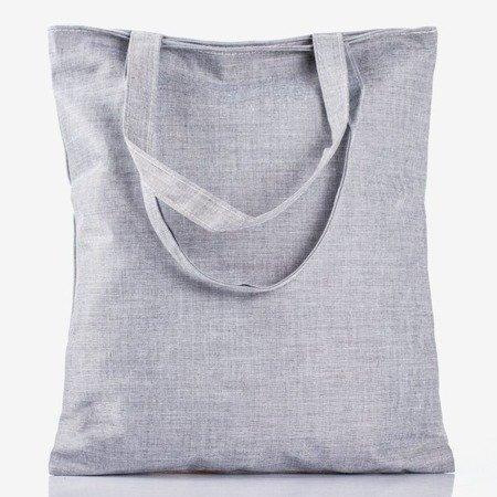 Gray bag with the inscription - Handbags 1