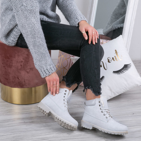 Gray, insulated Adley footwear- Footwear