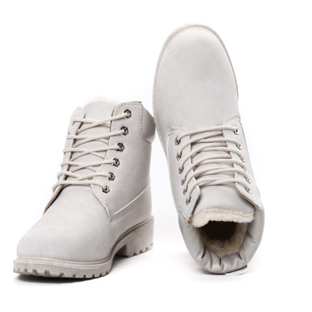 Gray, insulated Adley footwear- Footwear