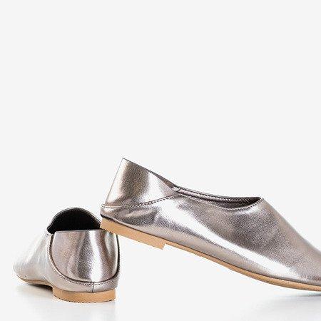 Gray - silver women's shoes Branca - Footwear