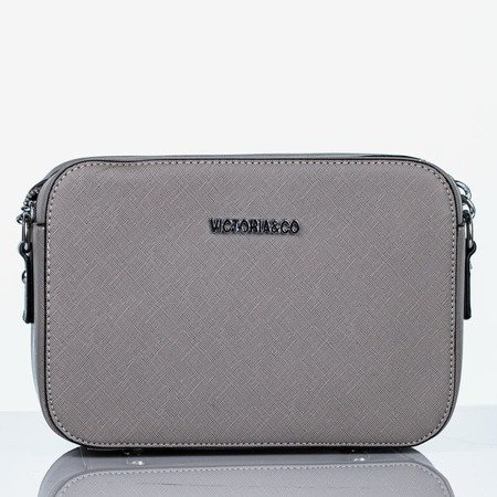 Gray small shoulder bag - Handbags