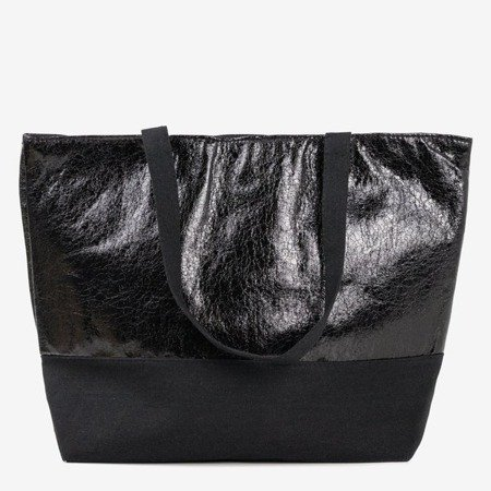 Ladies' black shoulder bag - Handbags