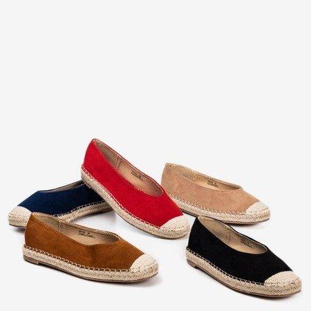 Ladies 'brown espadrilles Lalina - Footwear
