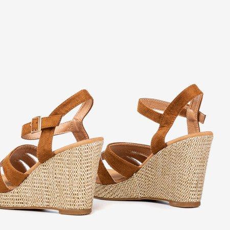 Ladies 'brown sandals Sirima - Footwear