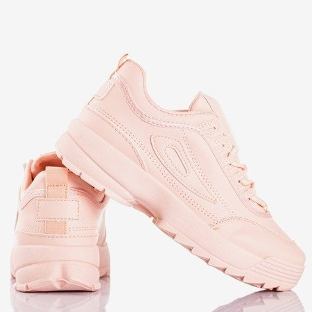Light pink women's sneakers That's It - Footwear 1