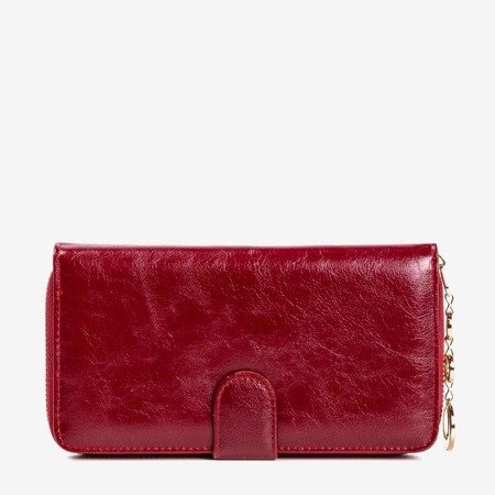 Maroon women's wallet - Wallet