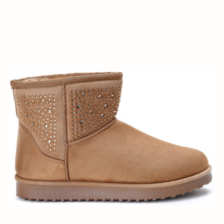Matila brown insulated snow boots - Footwear