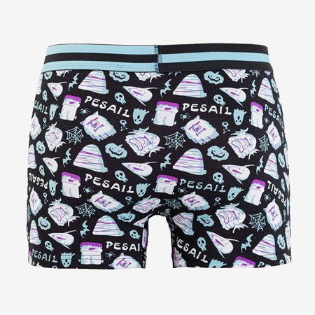 Men's boxer shorts with colorful print - Underwear
