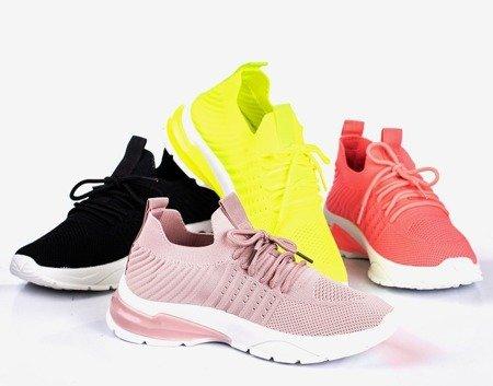 Neon orange Brighton women's sports shoes - Footwear
