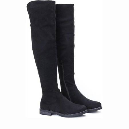 OUTLET Black Roma boots - Footwear