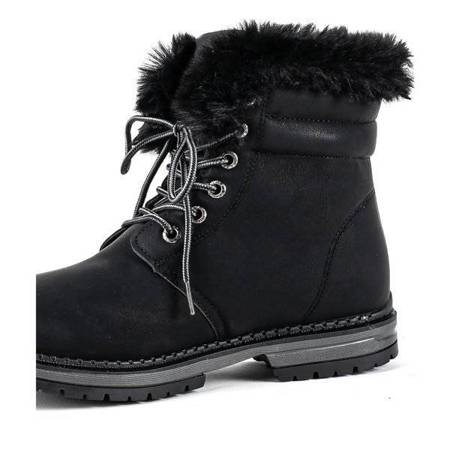 OUTLET Black insulated boots Simi - Footwear