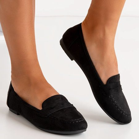 OUTLET Black women's Selbis loafers - Shoes