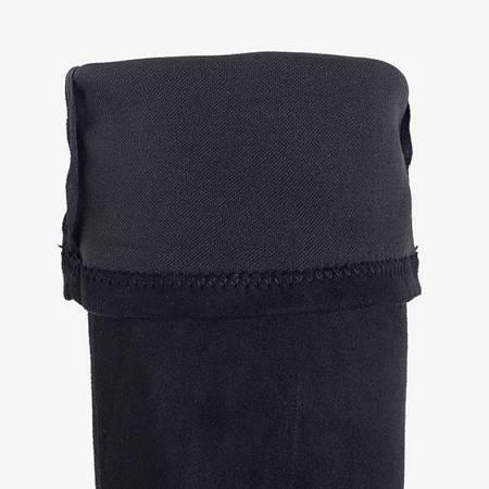 OUTLET Black women's boots on a stiletto Fumiko - Footwear