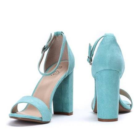 OUTLET Mint sandals on the Alani post - Footwear