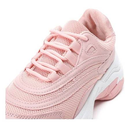 OUTLET Pink Alabama thick-soled trainers - Footwear