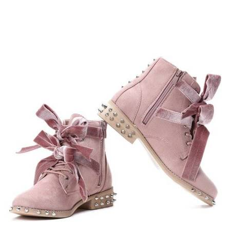 OUTLET Pink Paisley studded bags - Shoes