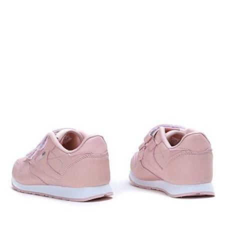 OUTLET Pink girls' sports shoes by Samina - Footwear