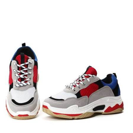 OUTLET Red and blue sports shoes Joycea - Footwear