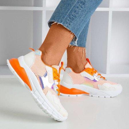 Orange women's Spring Day sneakers - Footwear 1