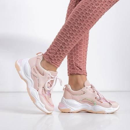 Sanara pink women's sports shoes - footwear