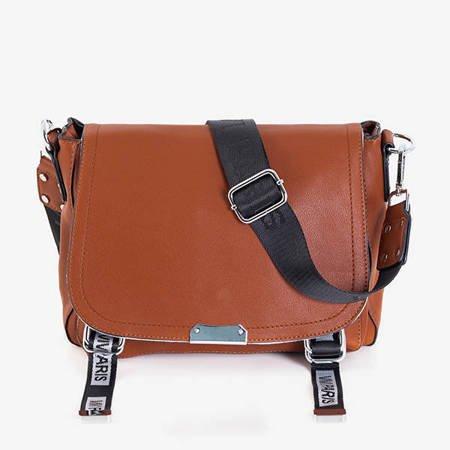 Small brown women's handbag - Handbags