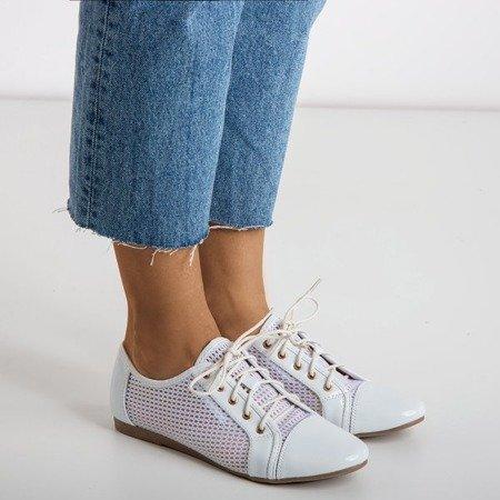 White women's shoes Ostyledia - Footwear 1