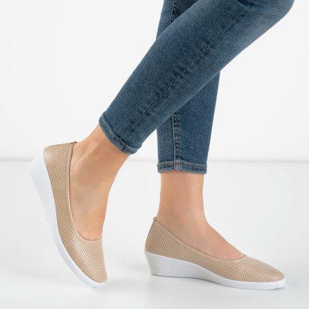 Women's ballet pumps on a low wedge Bethel - Footwear 1