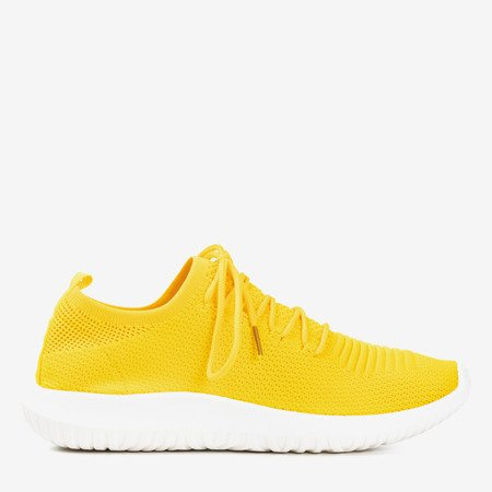 Yellow sports shoes for women Noven - Footwear
