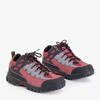 Aliccer black and red women's sports shoes - Footwear
