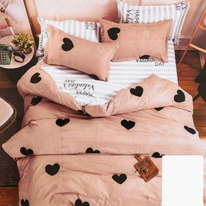 Color bedding set 160x200 4-pieces - bed linen
